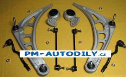 Sada předních ramen, uložení, stabilizátory a čepy řízení BMW 3 E46 - DF TC1727 DF TC1728