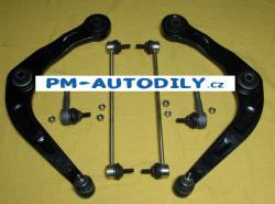 Sada předních ramen, stabilizátory a čepy řízení Peugeot 206 - 34.17.706 34.17.700 34.17.701
