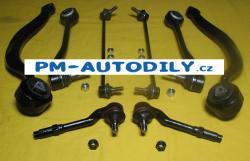 Sada předních ramen, stabilizátory a čepy řízení BMW X5 E53 FB 33372 14.62.700 14.62.701 14.62.704 14.62.705