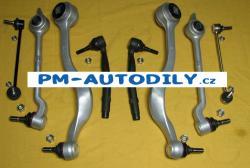 Sada předních ramen, stabilizátory a čepy řízení BMW 5 E39 14.15.700, 14.15.701, 14.15.704, 14.15.705, 14.15.711