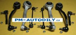 Sada předních ramen, stabilizátory a čepy řízení Mercedes Benz CLK A209 C209