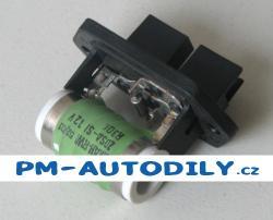 Předřadný odpor / odpor ventilátoru chladiče Fiat Idea - 7739435 60811737 7782831 46533716 51736774