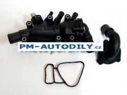 Těleso termostatu / termostat Ford Fiesta 5 - 1.3i S6E-8A586 A1G 1212852 S6E8A586 1149617 2S6G-8A586-B2A