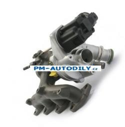 Turbodmychadlo Škoda Fabia 2 1.2 TSi - 03F145701C 03F145701D 03F145701E 03F145701F 03F145701G 03F145701L 03F145701M TD 1I-0083 IHI 03F145701G