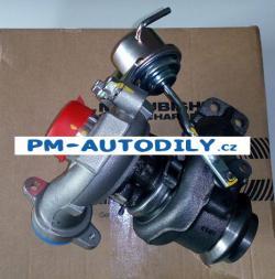 Nové turbodmychadlo Mitsubishi Citroen C5 3 1.6 HDi - 49173-07506 1479841 3M5Q6K682DB 9657530580 49173-07502 49173-07504 49173-07508 49173-07516 TD 1M-0025T
