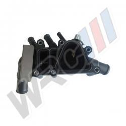Těleso termostatu / termostat Ford Street Ka - 1.3i S6E-8A586 A1G 1212852 S6E8A586 2S6G-8A586-B2A 1149691 1136703 1820046